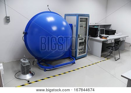 Equipment for QC and tests in empty testing room