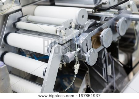 Metal Machine With Shafts