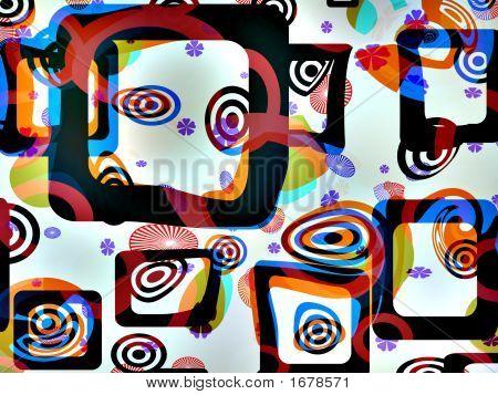 Abstract Op-Art