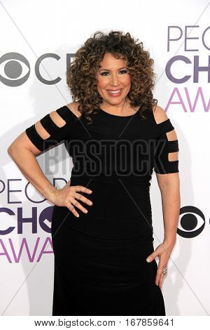 LOS ANGELES - JAN 18:  Diana Maria Riva at the People's Choice Awards 2017 at Microsoft Theater on January 18, 2017 in Los Angeles, CA