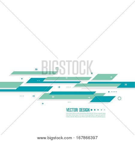 Contemporary Abstract background with lines, stripes motion and dynamics. Concept speed and movement. Minimal moving backdrop. Modern design for covers, placards, posters, flyers and banner. Vector