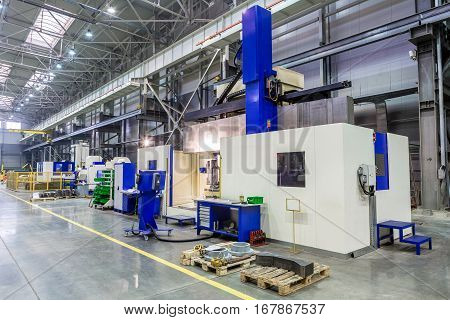 the interior metal manufacturing CNC machines vertical machining center