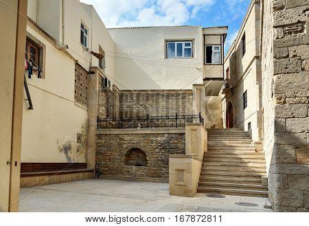 Street In Old City, Icheri Sheher. Baku