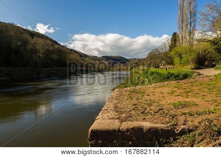 Old Quay On River Wye