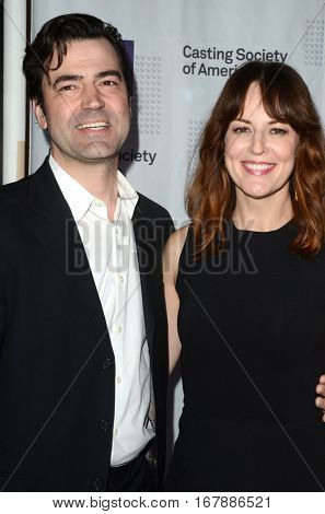LOS ANGELES - JAN 19:  Ron Livingston, Rosemarie DeWitt at the 2017 Artios Awards at Beverly Hilton Hotel on January 19, 2017 in Beverly Hills, CA