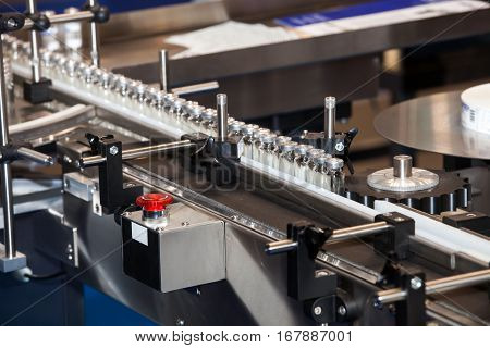Ampoule filling and sealing machine, equipment in pharmaceutical industry