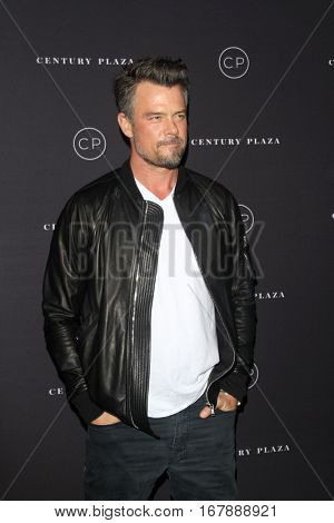LOS ANGELES - JAN 19:  Josh Duhamel at the Unveiling of the Remodeled Century Plaza at Century Plaza Hotel on January 19, 2017 in Century City, CA