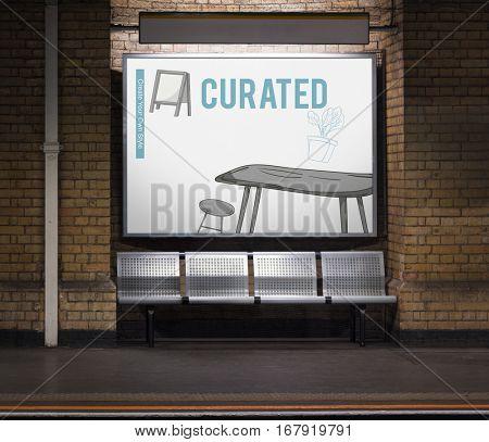 Design Curated Studio Contemporary Creative