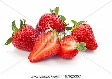 Fresh Ripe Strawberries.