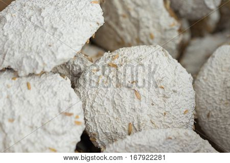Close Up Of Dried Traditional Yeast Used To Make Wine And Beer In Asia