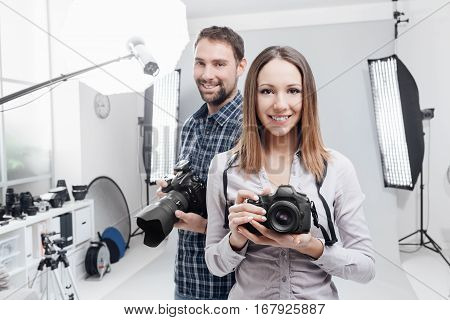 Professional Photographers In The Studio