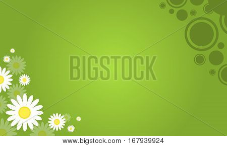 Collection stock of spring background vector illustration