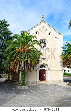 Church of St. Hieronymus on Square Mitch Pavlovich in Herceg Novi Montenegro