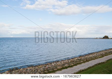 The Gulf Of Finland In The Park Peterhof