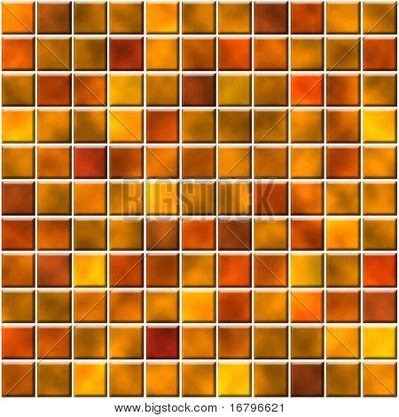seamless tiles in orange color