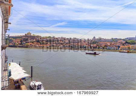 A Beautiful Porto Landscape with view over the Douro River