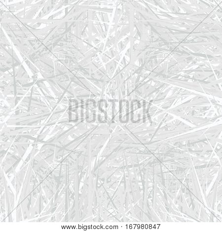 White seamless pattern in doodle style. Shaded background. Hand-drawn illustration.
