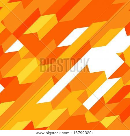 Colorful Abstract Geometric Vector Background | Creative Presentation Wallpaper
