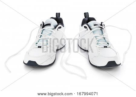 Sport sneakers isolated on white background