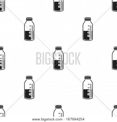 Mixture icon in black style isolated on white background. Medicine and hospital pattern vector illustration.