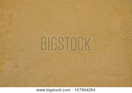 thin dough lying on the hearth. A photo