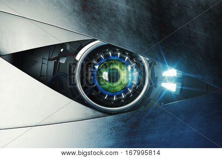 Green Cyber Eye
