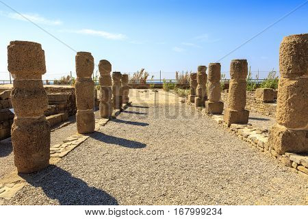 Ruins of Baelo Claudia is an ancient Roman town situated on the Costa de la Luz, some 15km north of Tarifa.