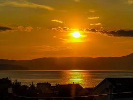 Hdr Malinska Sunset