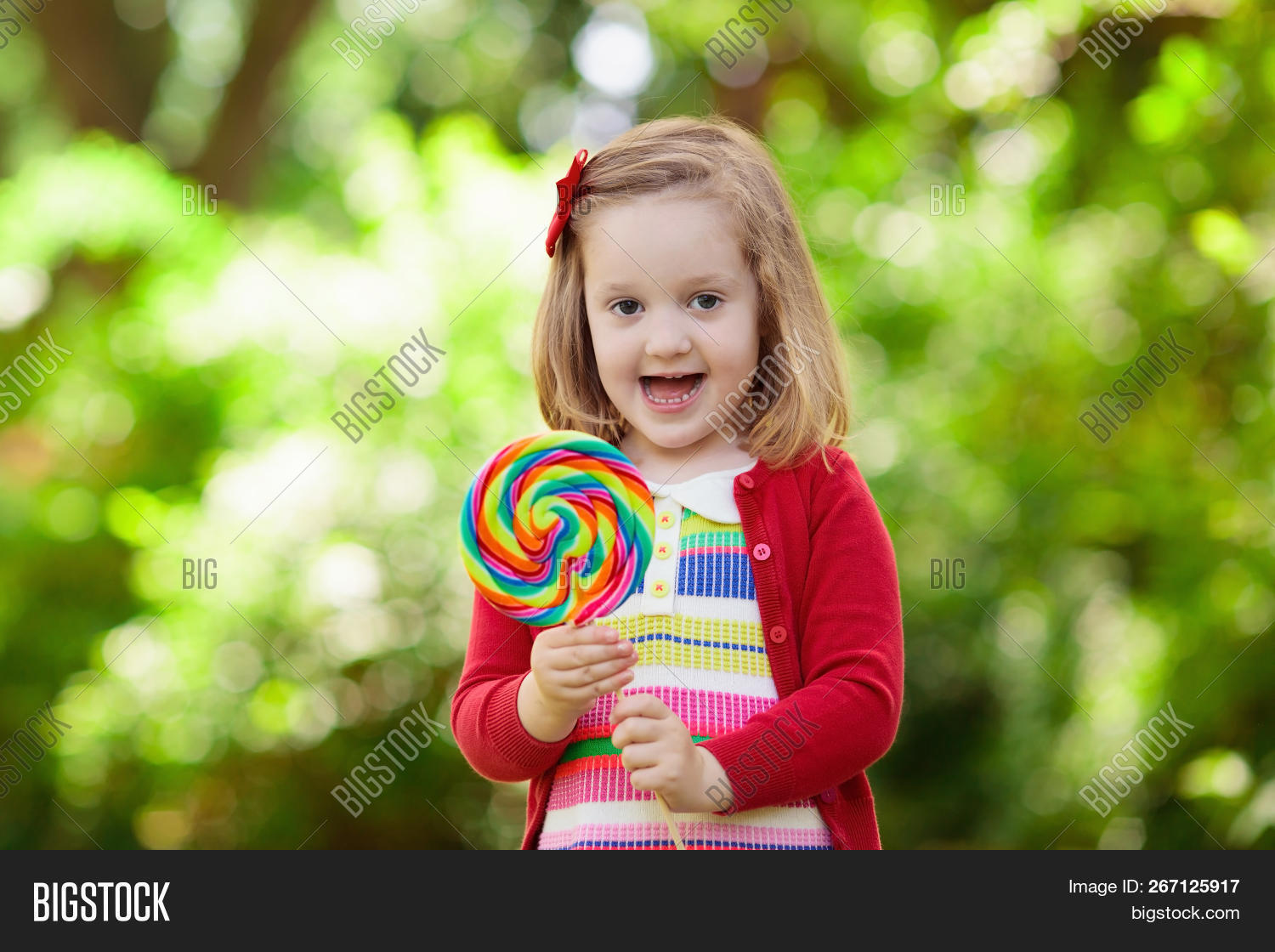 cb28215bfd0 Kids Wearing Colorful Image & Photo (Free Trial) | Bigstock