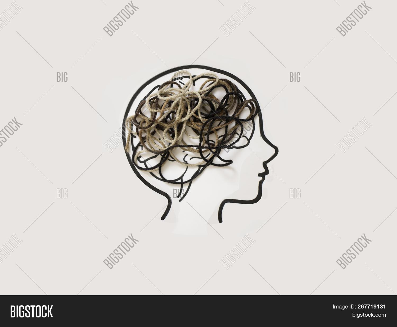 Brain - Tangled Brown Image & Photo (Free Trial) | Bigstock