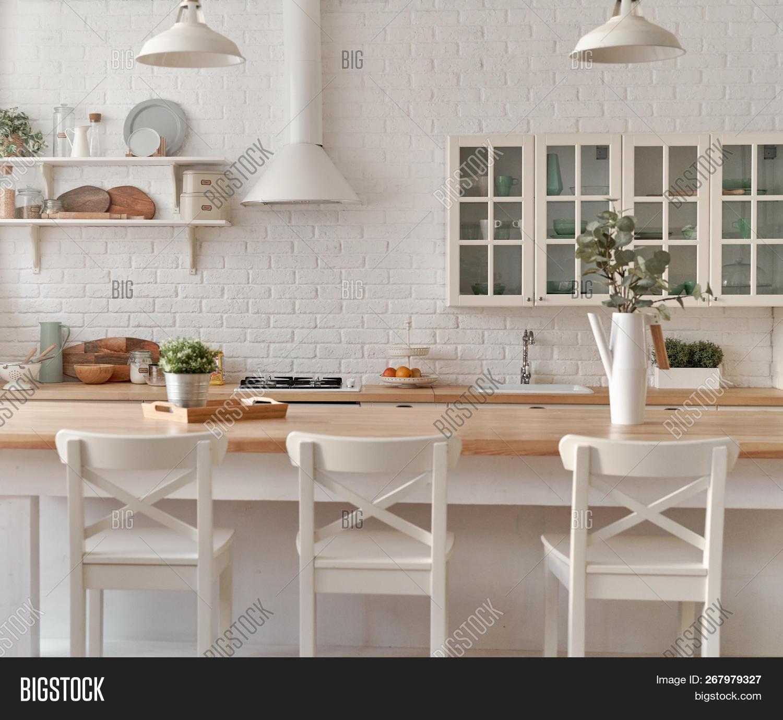 Kitchen Table Kitchen Image & Photo Free Trial   Bigstock