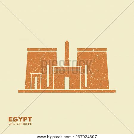 The Temple Of Edfu Is An Ancient Egyptian Temple, Located On The West Bank Of The Nile In Edfu, Uppe