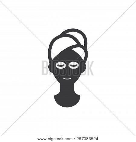Face Mask Vector Icon On White Background. Face Mask Icon In Modern Design Style. Face Mask Vector I