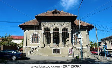 Drobeta Turnu Severin, Romania - 10.08.2018: Old House Landmark Architecture
