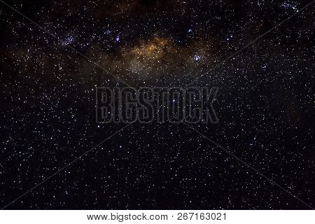 Stars And Galaxy Outer Space Sky Night Universe Black Starry Background Of Starfield