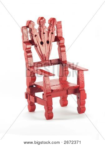 Red Toy Chair