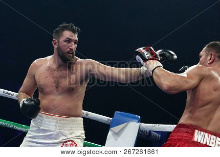 Sofia, Bulgaria - 27 October 2018: Boxing Match Between Kubrat