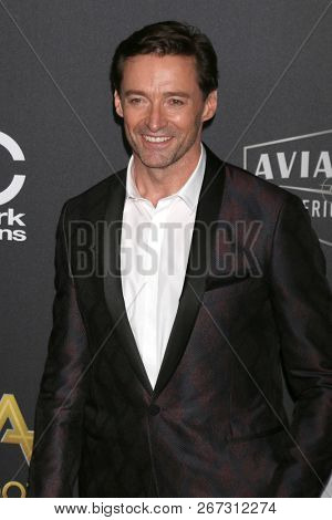 LOS ANGELES - NOV 4:  Hugh Jackman at the Hollywood Film Awards 2018 at the Beverly Hilton Hotel on November 4, 2018 in Beverly Hills, CA