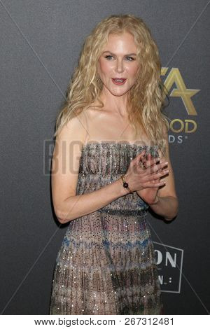 LOS ANGELES - NOV 4:  Nicole Kidman at the Hollywood Film Awards 2018 at the Beverly Hilton Hotel on November 4, 2018 in Beverly Hills, CA