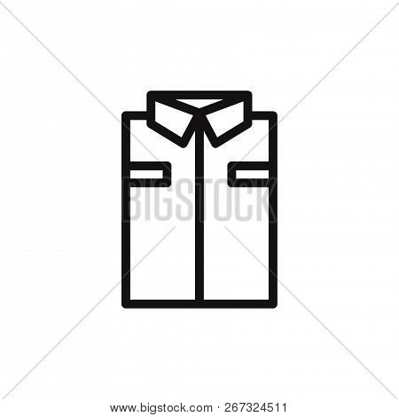 Shirt Icon Isolated On White Background. Shirt Icon In Trendy Design Style. Shirt Vector Icon Modern