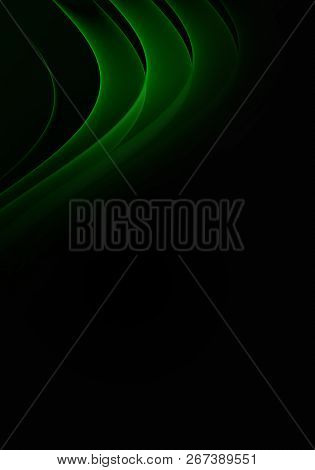 Modern Elegant Abstract Background Or Wallpaper For Smartphone, Waves And Curves