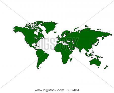 Worldmap_green