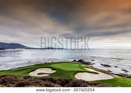 Coastline Golf Course In California