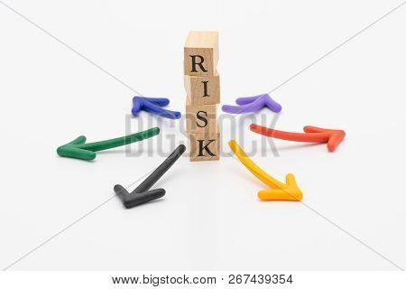 Risk Of Avoiding Risk The Concept Of Risk Diversification Of A Business Or Organization. For The Une