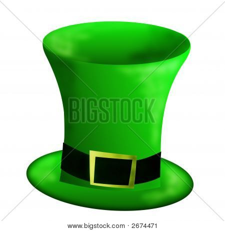 St Patricks Day Green Hat