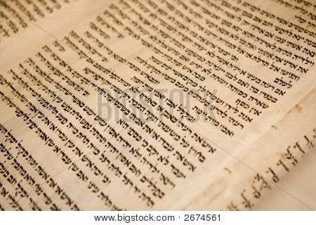 Ancient Torah Scoll