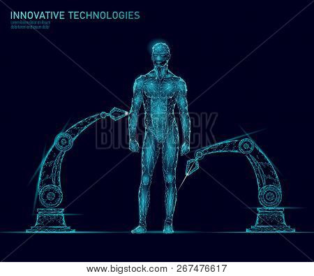 Adjustment Human Body Anatomy. Dna Engineering Science Innovation Superman Technology. Genome Health