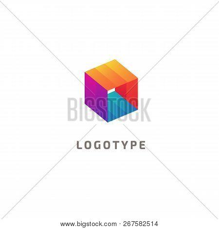 Abstract Vetor Logo Vector Design. Sign For Business, Internet Communication Company, Digital Agency
