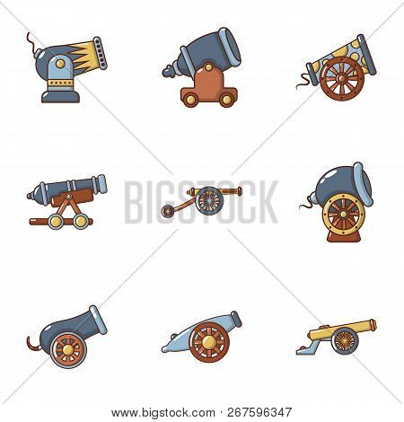 Volley Icons Set. Flat Set Of 9 Volley Vector Icons For Web Isolated On White Background