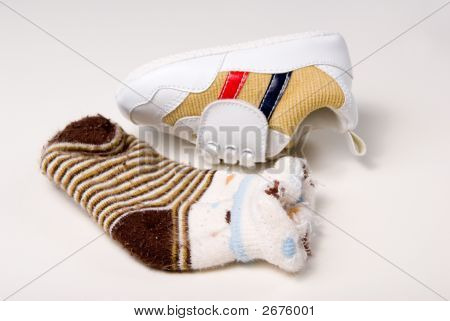 Baby Shoe And Sock